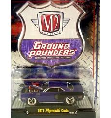 M2 Machines  Ground Pounders 1971 Plymouth Cuda