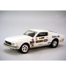 Hot Wheels Hall of Fame Series - 1968 Ford Mustang Cobra Jet Rice Holman NHRA race car
