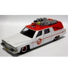 Hot Wheels - 1984 Cadillac Eureka Hearse - Ghostbuster's Ecto-1