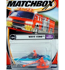 Matchbox - Ski Boat with Water Skier