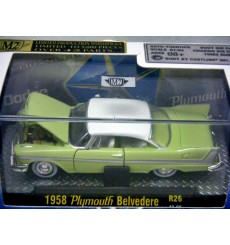 M2 Machines 1958 Plymouth Belvedere