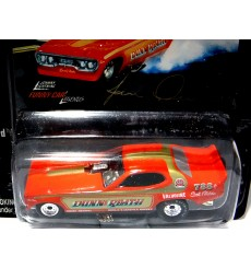 Johnny Lightning Funny Car Legends: Jim Dunn's Dunn & Reath 1973 Plymouth Satellite NHRA Funny Car