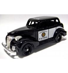 Lledo - 1939 Chevrolet Highway Patrol Car