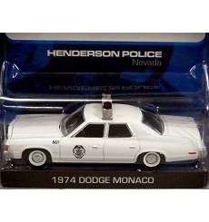 Greenlight Hot Pursuit - Henderson NV 1974 Dodge Monaco Police Car