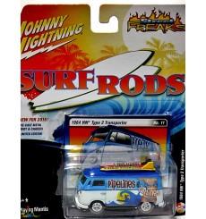 Johnny Lightning Street Freaks - Surf Rods - 1964 VW Type 2 Transporter