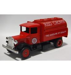 Lledo 1934 Mack Red Crown Gasoline Tanker