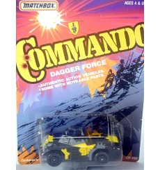 Matchbox Commando Dagger Force Weasel Armored Gun Vehicle
