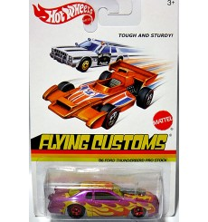 Hot Wheels Flying Customs - Rare - 86 Ford Thunderbird NHRA Pro Stock