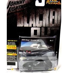 Johnny Lightning Street Freaks - Blacked Out - Chevrolet Corvette C5 Coupe