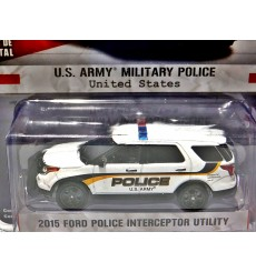 Greenlight Hot Pursuit Series - US Army Military Police Ford Police Interceptor