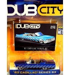 Jada Dub City - 1962 Cadillac Series 62 Convertible
