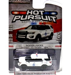 Greenlight - Hot Pursuit - Denver Police Ford Police Interceptor Utility