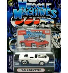 Muscle Machines 1963 Chevrolet Corvette Split Window Coupe