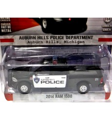 Greenlight - Hot Pursuit - Auburn Hills MI Police Dodge Ram Pickup Truck