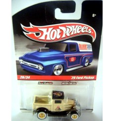 Hot Wheels Delivery Slick Rides Racer Brown Cams 29 Ford Model A Pickup Truck