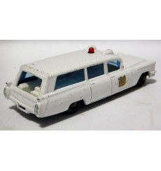 Matchbox Regular Wheels (54B-2) S&S Cadillac Ambulance