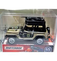 Matchbox Globe Travelers - Jeep Wrangler