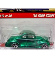 Hot Wheels Classics - 1940 Ford Coupe Hot Rod