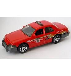 Matchbox - Ford Crown Victoria Fire Chief Car