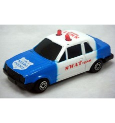 MC Toys - Ford Escort Police SWAT Team Car