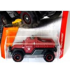 Matchbox - Road Raider Military Police Truck
