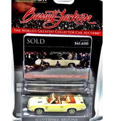 Greenlight Barrett-Jackson - 1972 Oldsmobile 442 Convertible