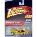 Johnny Lightning 2.0 1964 Dodge 330 Superstock 426 Hemi NHRA Bill Maverick Golden Race Car