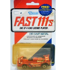 Kenner Fast 111's - Formula Special Open Wheel Race Car