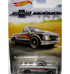 Hot Wheels Chevy Trucks 100 Years - Custom 1962 Chevy Pickup Truck