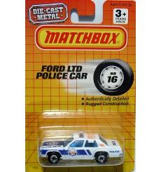 Matchbox Ford LTD Police Patrol Car
