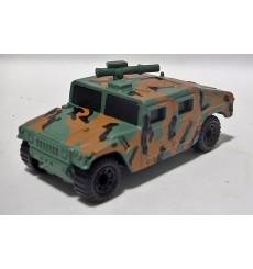 Matchbox - Jungle Camo Military Hum Vee with Gun Turret