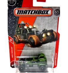 Matchbox Sahara  Sweeper