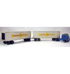 Matchbox Major Packs Cooper and Jarrett Insterstate Double Freighter