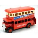 Lledo London Transit Double Decker Bus - Cinzano