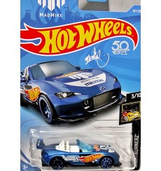 Hot Wheels - Mad Mike Mazda MX-5 Miata
