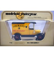 Matchbox Models of Yesteryear 1912 Ford Model T Colmans Mustand Truck