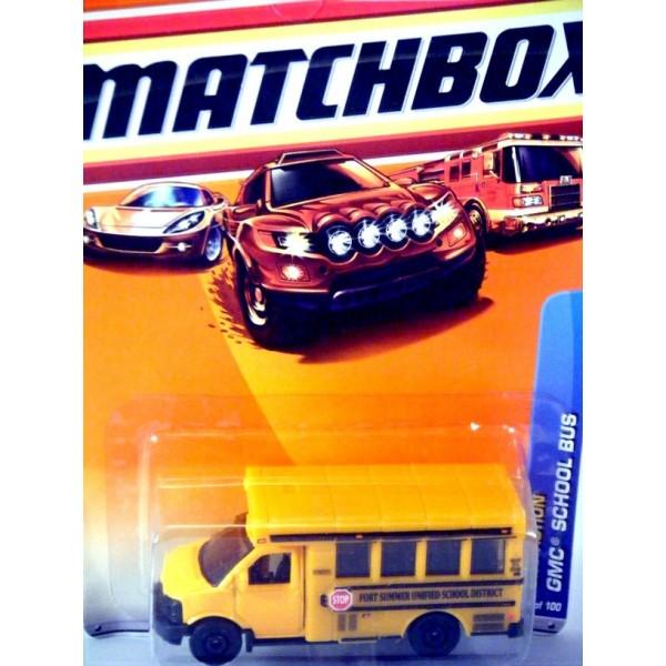 Matchbox GMC School Bus - Global Diecast Direct