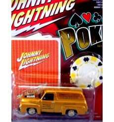 Johnny Lightning Poker 1955 Ford Sedan Delivery