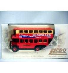 Lledo Promo Model 1931 SEC Renown London Double Decker Bus - Showgard Mounts