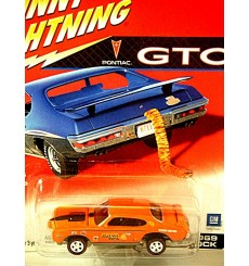 Johnny Lightning GTO - 1969 Pontiac GTO Judge Jolly Orange NHRA Race Car