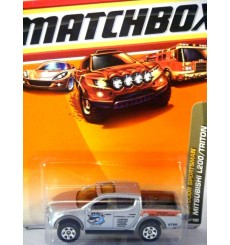 Matchbox Mitsubishi L200 Triton Outdoor Sportsman Pickup Truck