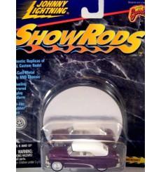 Johnny Lightning Show Rods Rowes Mercury - 1951 Custom Merc Lead Sled