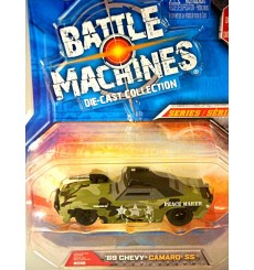 Jada: Battle Machines 1969 Chevy Camaro SS Military - The Peace Maker