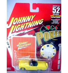 Johnny Lightning Poker - 1956 Ford Thunderbird