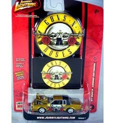 Johnny Lightning Rock Art Guns N' Roses Buick Grand National Regal