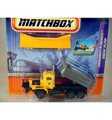 Matchbox Working Rigs Oshkosh P-Series Snow Plow