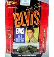 Johnny Lightning Rock Art - Elvis Presley GI Blues Military 1966 Shelby Cobra Daytona