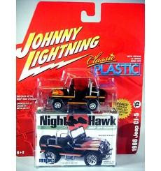 Johnny Lightning Classic Plastic - 1966 Jeep CJ-5 Night Hawk