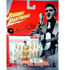 Johnny Lightning Rock Art  Elvis Presley 1973 Cadillac Eldorado Convertible