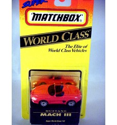 Matchbox World Class Ford Mustang Mach III Concept Car